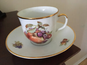 Western Germany cup & saucer