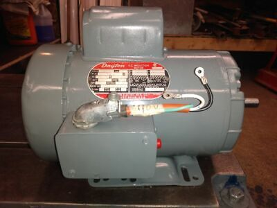 Dayton 2 Hp Single Phase Tefc Electric Motor