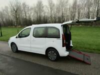 2018 Peugeot Partner Tepee 1.6 Hdi PREMIER RX TAXI Wheelchair Accessible Vehicle