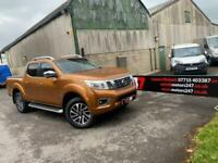 2017 Nissan Navara Double Cab Pick Up Tekna 2.3dCi 190 4WD Auto Pick Up Diesel A