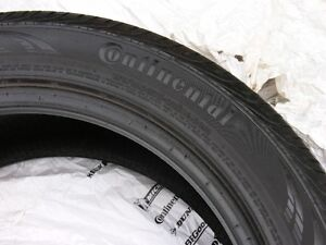 4) 225 45r17 Continental ContiPro Contact All Season tires