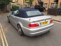 BMW M3 CONVERTIBLE SMG AUTOMATIC 2004 HPI CLEAR