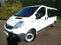 2013 Vauxhall Vivaro 2900 2.0CDTi LWB 9 SEAT COMBI VAN WITH AIR/CON