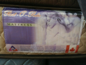 Great condition king mattress and box spring