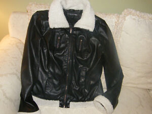Womens Leather Look Jackets