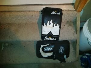 hockey goalie blocker