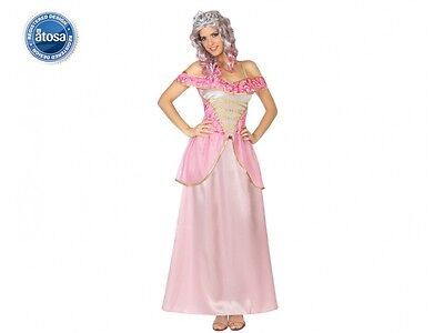 Kostüm Frau Prinzessin Aurore rosa XXL Erwachsene mittelalterlich neu billig