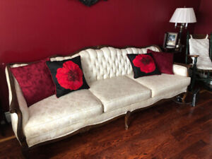 Vintage/Victorian Looking Couch and Chair