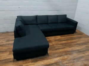 Free delivery: Urban Barn Sectional - Gray
