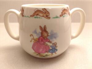 Bunnykins Royal Doulton bowl & mug