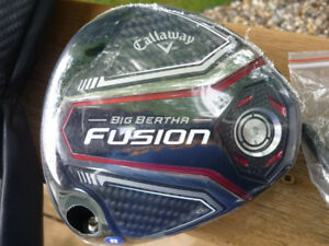 New 2017  LH Callaway Big Bertha Fusion 10.5 Driver