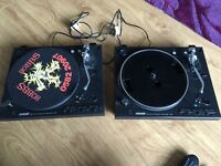 Sound lab DLP1600 turntables belt driven decks. Not technics Stanton denon pioneer cdj