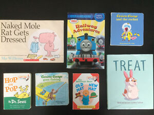 Large Assortment of Children's Books Available.