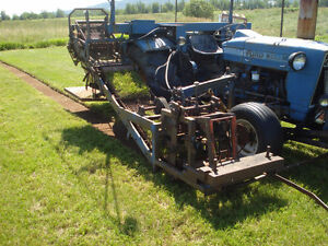 Brouwer Sod Harvester For Sale