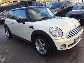 Mini Cooper Hatch 2008 1.6 Cream/ White ***SHOWROOM CONDITION***
