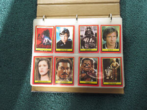 Return of the JEDI and ET - Collectible cards