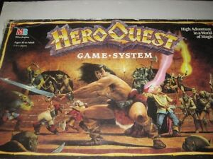 Hero Quest Board Game System Edmonton Edmonton Area image 6