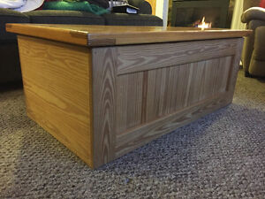 Create Design Solid Wood Coffee Table (Storage Unit)