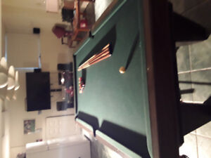 Brunswick snooker pool table 4×8
