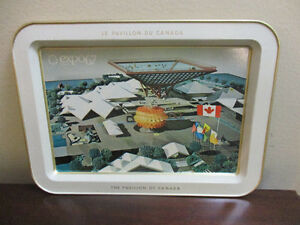 Vintage 1967 Montreal Expo Souvenir Tray Kitchener / Waterloo Kitchener Area image 1