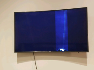 "Samsung 55"" curved LED- Cracked"
