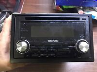 Kenwood DPX 503U stereo with front USB and aux port
