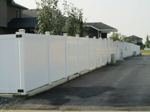 KCJ CONTRACTING LTD VINYL FENCES