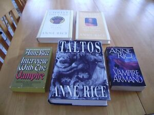 ANNE RICE BOOKS