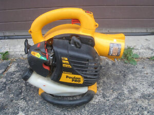 Poulan Pro Gas Leaf Grass Trash Debris Handheld Blower,*** AS IS