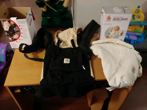 Ergobaby carrier and Ergobaby infant insert combo