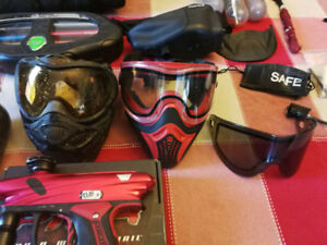 Paintball Gear full set up
