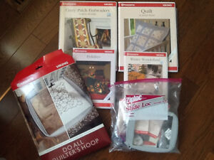 Husqvarna sewing and embroidery accessories