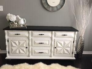 dresser/buffet table