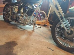 Harley, S&S, softail, chopper, custom