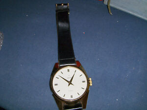 VINTAGE BELT WATCH CLOCK-TOWNCRAFT-2 JEWELS-MADE IN JAPAN