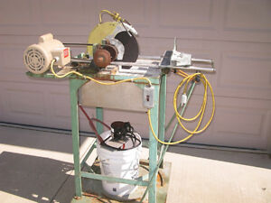 Industrial Subway Tile Cutter