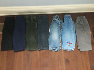 Lot 7 pantalons garçon 9-12 mois