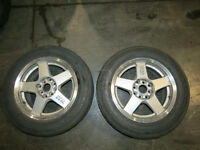 JDM Impul RS Rims Wheels, Mags, 5X114.3, 4x114.3 15x6.5j +38