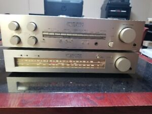 Combiné  Luxman  L5 et T2 Vintage Integrated Amp and Tuner