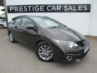 2015 Honda Civic 1.6 i-DTEC SE Plus Tourer 5dr (Honda Connect) Diesel bronze Man