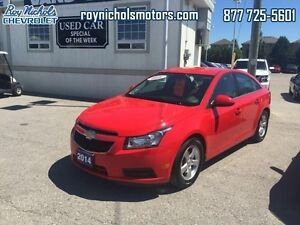 2014 Chevrolet Cruze LT  - Certified - Bluetooth -  OnStar -  Si
