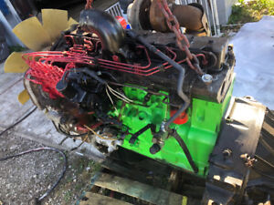 Cummins motor out of a 1998 freightliner