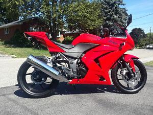 Ready for a NEW ride season 2017 - Red Kawasaki Ninja 250R