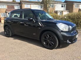 MINI Countryman Cooper SD ALL4 (black) 2012