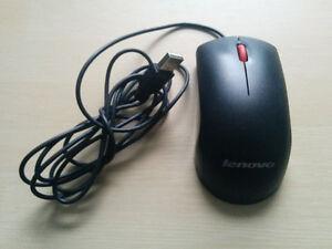 Souris USB Lenovo très bon état