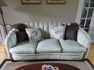 LIVING ROOM SOFA AND TWO CHAIRS  Asking $600.00 Very sturdy