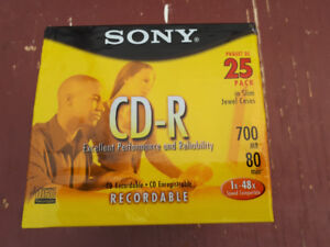 Paquet de 25 CD Sony