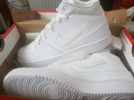 Size 4 white high tops