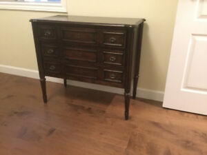 Three Drawer Solid Wood Chest