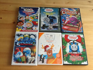 Kids Christmas dvds